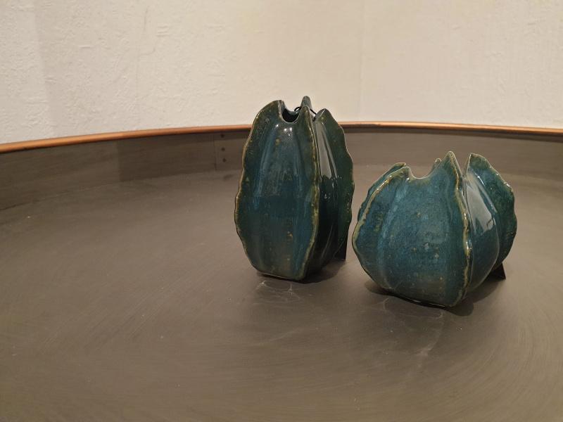 Lot de 2 mini vases grenade