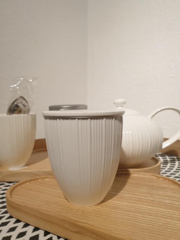 Mug filtre Jeanne blanc