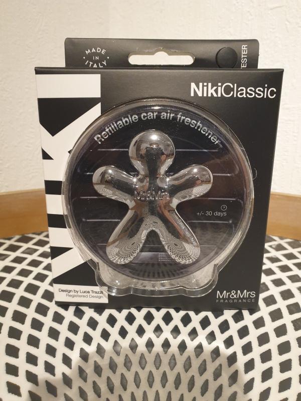 Niki Classic Argent Brillant avec recharge Pure
