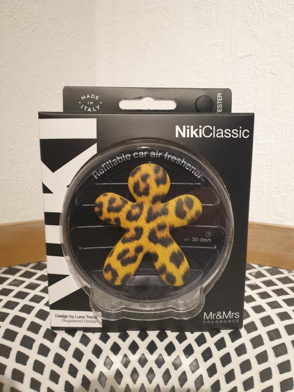 Niki Classic tacheté panthère avec recharge Vanilla et Patchouli