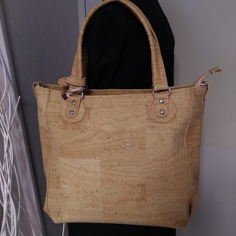 Grand sac en liège couleur naturel