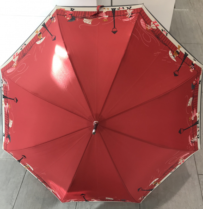 Parapluie grand manche auto  VAUX  Réf:5837