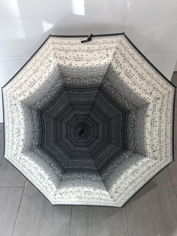 Parapluie garand manche  VAUX  Réf :5822 musique