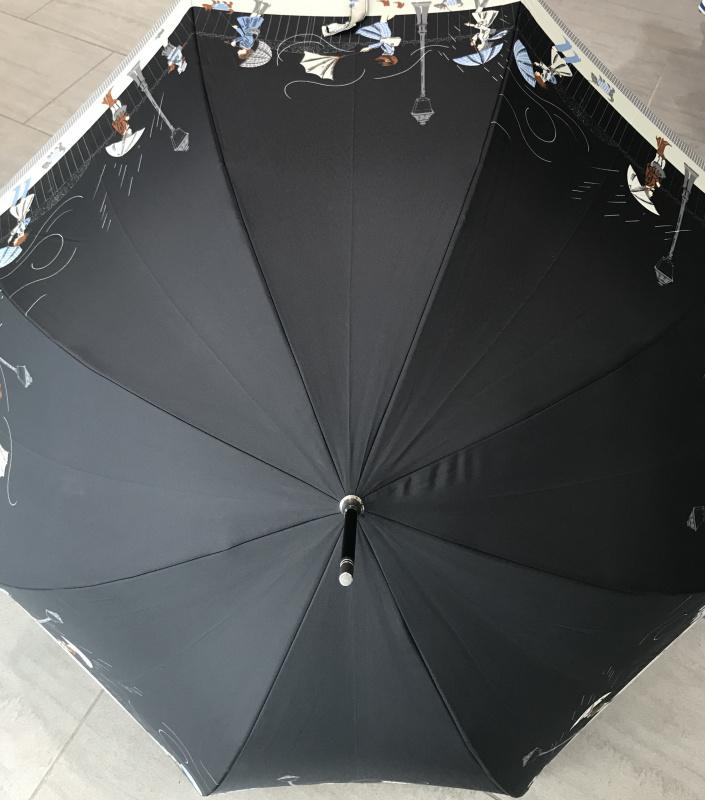 Parapluie grand  manche automatique  VAUX  Réf :5837