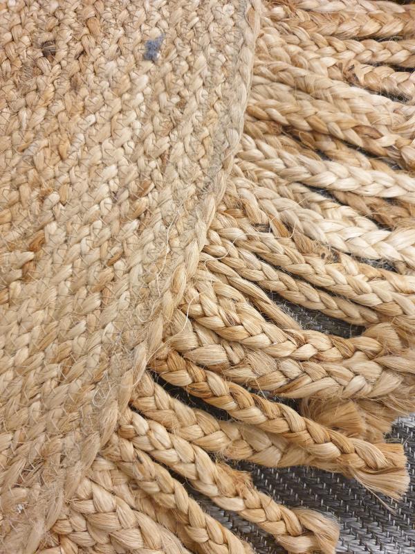 Tapis jute naturel La Maison de Lilo 120cm  68