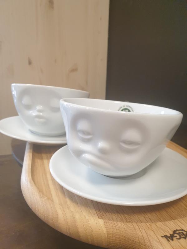 Tasse à café fiftyeight  avec sa soucoupe