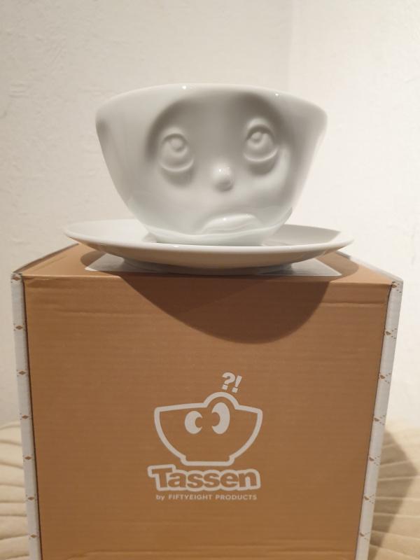 "Tasse à café fiftyeight ""oh s'il te plaît !"" T01.44.01"