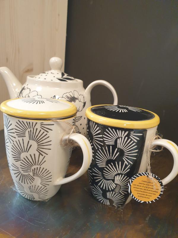 Tasse filtre à thé AVA