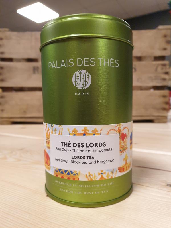 Thé des Lords Palais des thés boîte métal 11.70