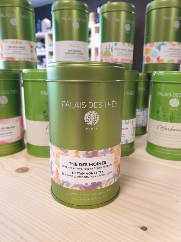 Thé des Moines Palais des thés boîte métal 12.20