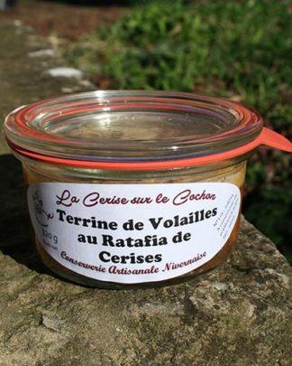 Terrine de Volailles au Ratafia de Cerises - 120 gr