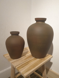 Vase Syracuse ocre