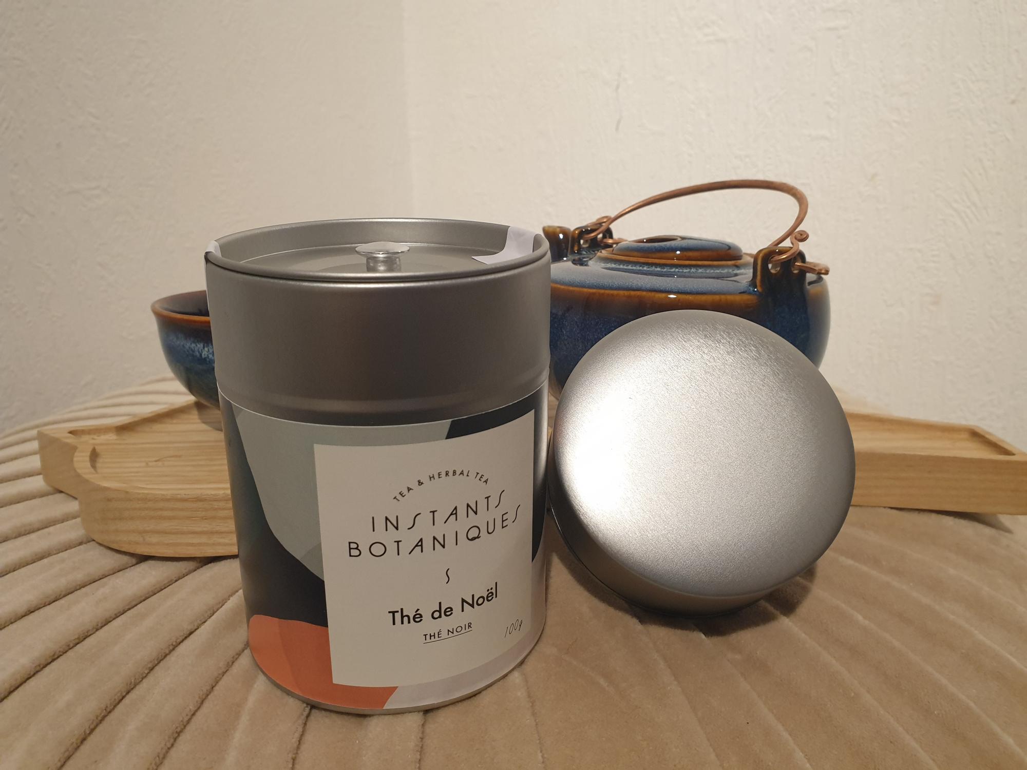 Boîte Thé de Noël Instants Botaniques