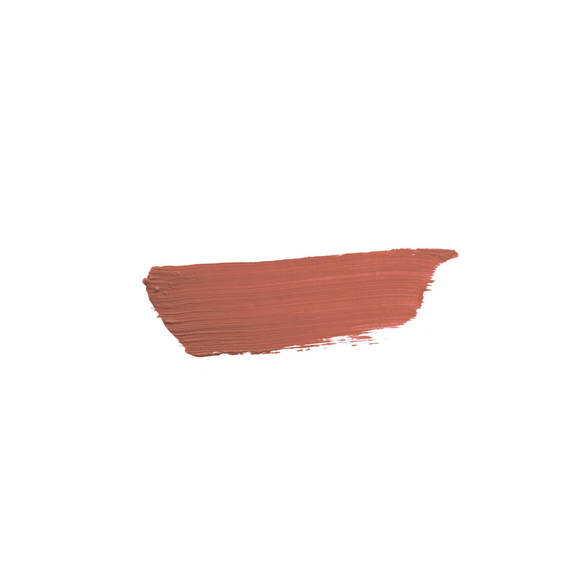 ROUGE A LEVRES N°281  MAT nude brun doux