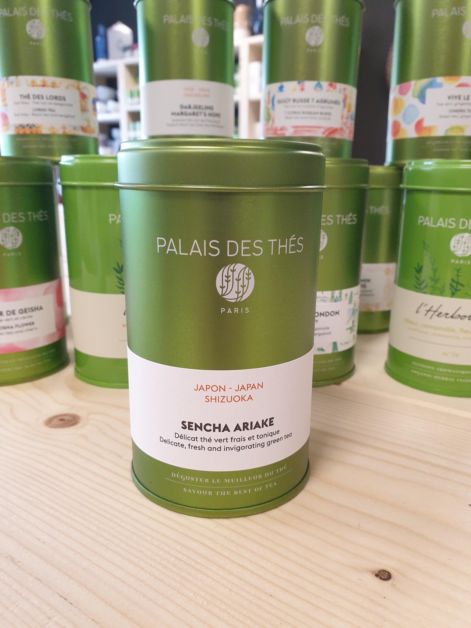 Sencha Ariake Palais des thés (boîte métal 17.50)
